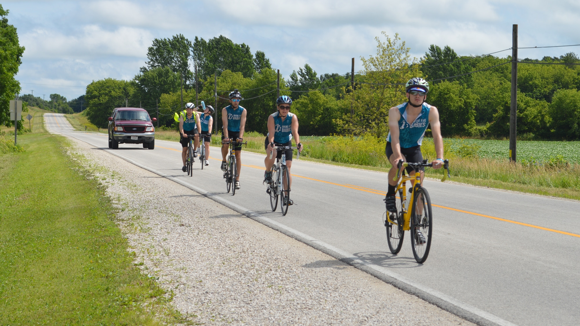 2017 Biking for Babies Northern Route